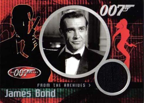 2002 James Bond 40th Anniversary Costume Cards CC1 James Bond