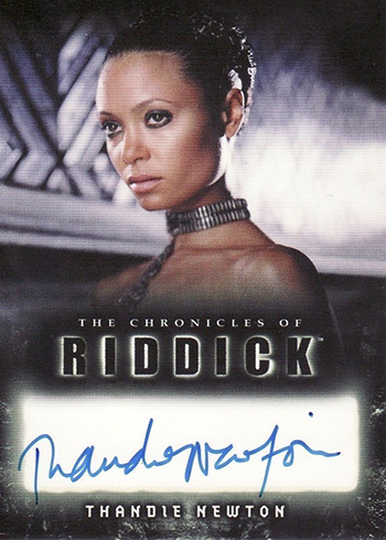 2004 Chronicles of Riddick Autographs Thandie Newton
