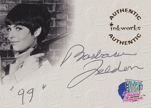1998 Inkworks TV's Coolest Classics Autographs Barbara Feldon