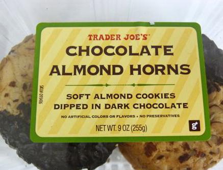Trader Joe's Chocolate Almond Horns Reviews - Trader Joe's ...