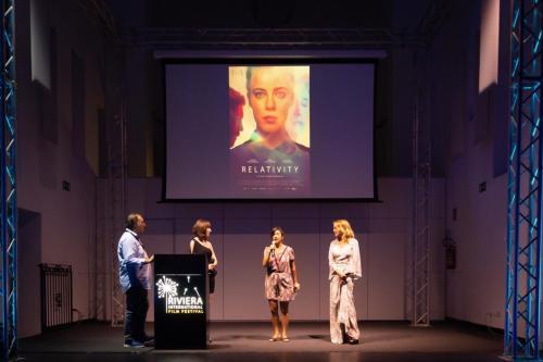 F5 Claudia Gerini al RIFF con i filmmaker