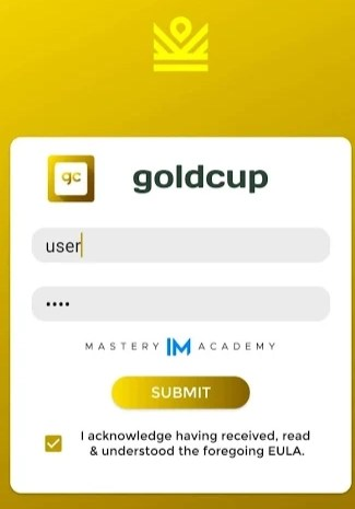 Gold Cup IML App