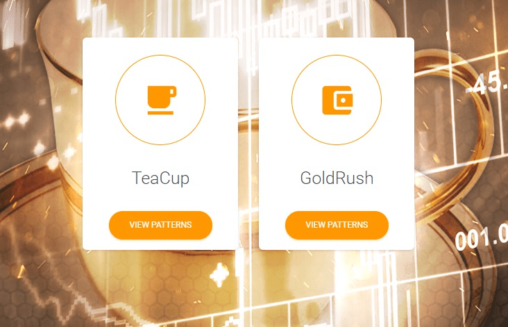 Gold Cup IML TeaCup and GoldRush