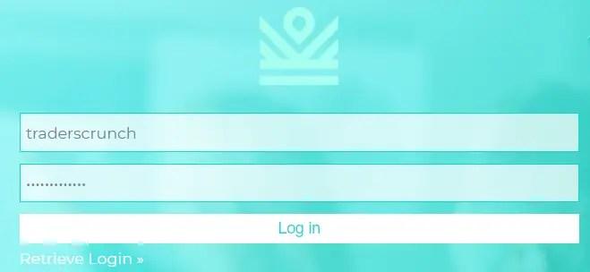 IM center - login page