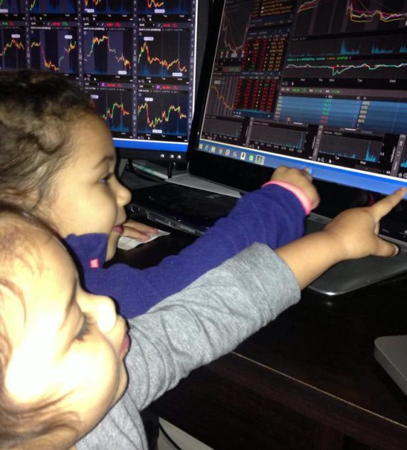 Day Trading with Two Young Kids