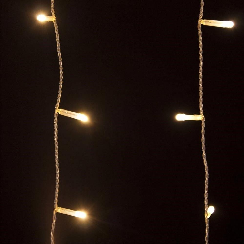 Sono versatili e possono illuminare sia l'esterno che l'interno di una casa, di un negozio o di un qualsiasi altro ambiente. Tenda Luminosa Natalizia 180 Led Luce Bianco Caldo 3 Metri Per Esterno