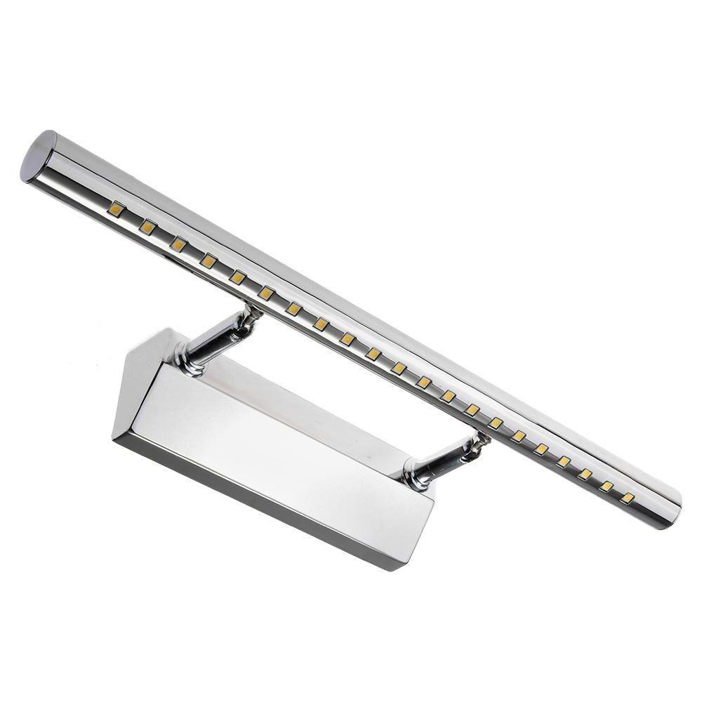 Elegante lampada a led da cm 30 per installazione su specchio da bagno con illuminazione a led. Applique Lampada Per Specchio Bagno Da Parete Con 30 Led Luce Bianco Freddo