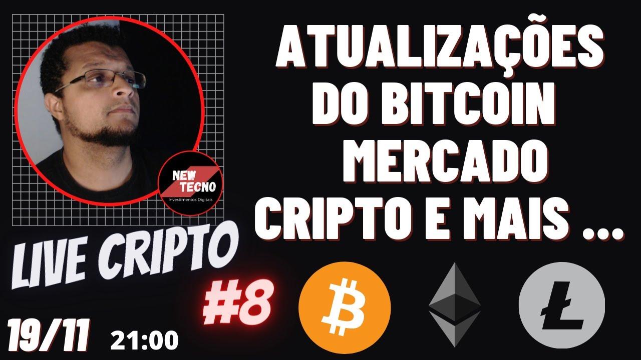 Atualizações Mercado criptomoedas, Sorteio e muito mais !!! Live cripto #9