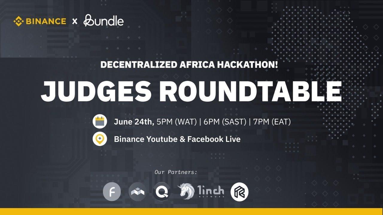 Africa Hackathon: JUDGES ROUNDTABLE!
