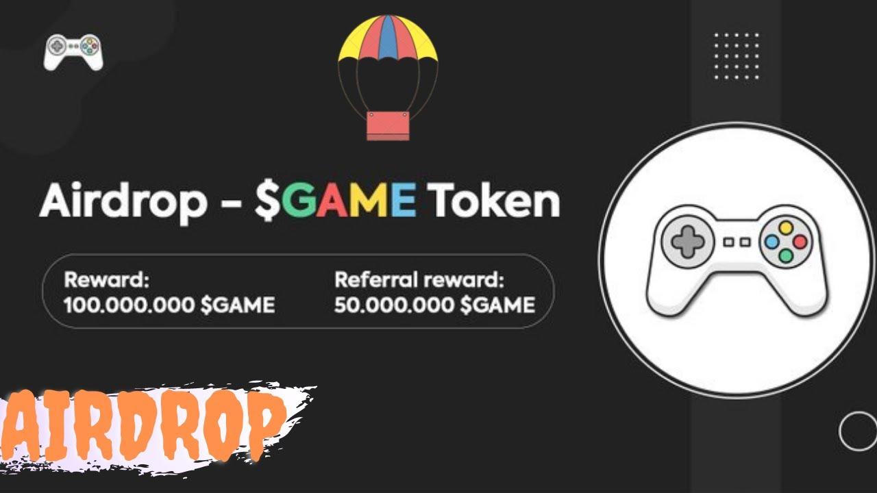 🚀Airdrop Gamebox network Ganhe 100.000.000 $GAME + 50.000.000 por ref distribuição 18 de junho