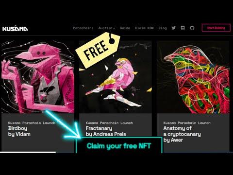 🚀Airdrop KUSAMA NFT $300 Este pássaro quebra paredes. NFTs de lançamento de Parachain corre limitado