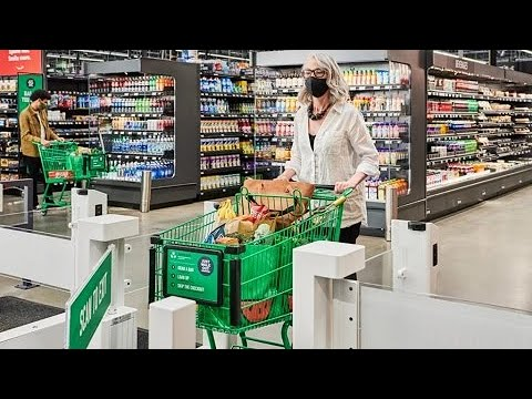 Amazon: sistema de pagamento sem caixas chega a supermercado de grande porte