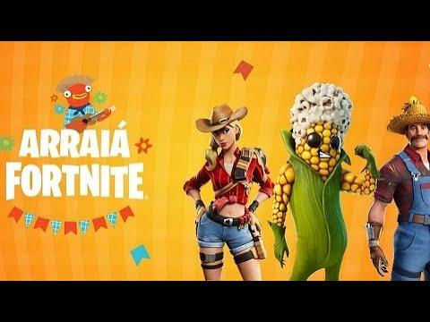 Arraiá Fortnite: Epic Games convida jogadores para evento