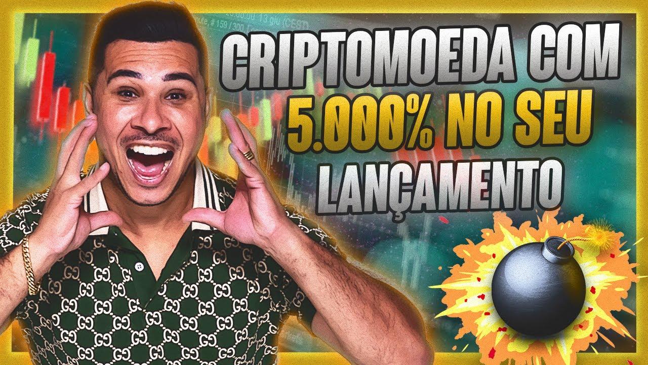 CRIPTOMOEDA Com 5.000% Em seu LANÇAMENTO (Aprenda a GANHAR DINHEIRO Com NOVAS CRIPTOMOEDAS)