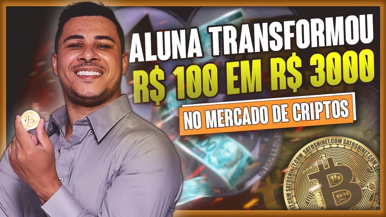 Ela Transformou R$ 100 reais em R$ 3 mil reais em apenas 20 dias com CRIPTOMOEDAS