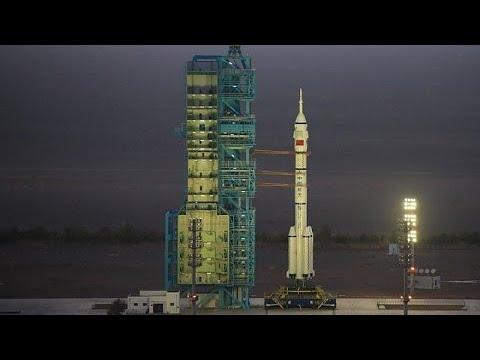 Primeira missão tripulada à estação espacial chinesa decolará nesta quinta-feira