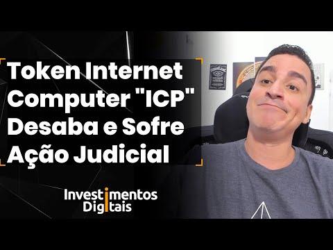 """🚨 Token Internet Computer """"ICP"""" Desaba e sofre Ação judicial (Eu Avisei, não avisei)"""