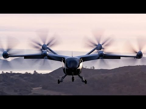 Aeronave elétrica completa voo de 240 km com uma carga de bateria