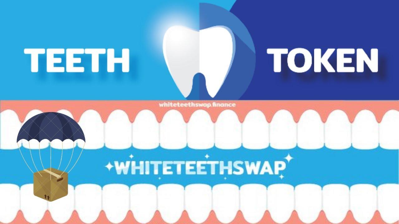 🚀Airdrop whiteteethswap  50,000 TEETH distribuição 9 de julho trustwallet/metamask corre