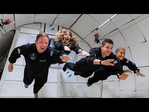 Inspiration 4: tripulação civil voa em gravidade zero pela 1ª vez