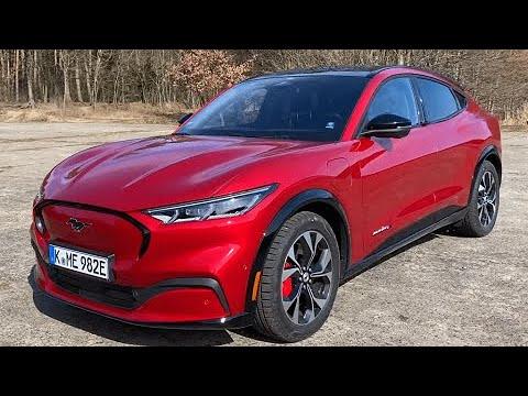Mustang Mach-E entra no Guinness como o carro elétrico mais eficiente