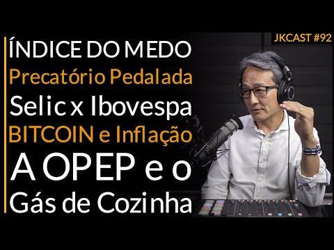 JKCast #92  ÍNDICE DO MEDO, Precatório Pedalada, Selic x Ibovespa, BITCOIN e Inflação,Gás de Cozinha
