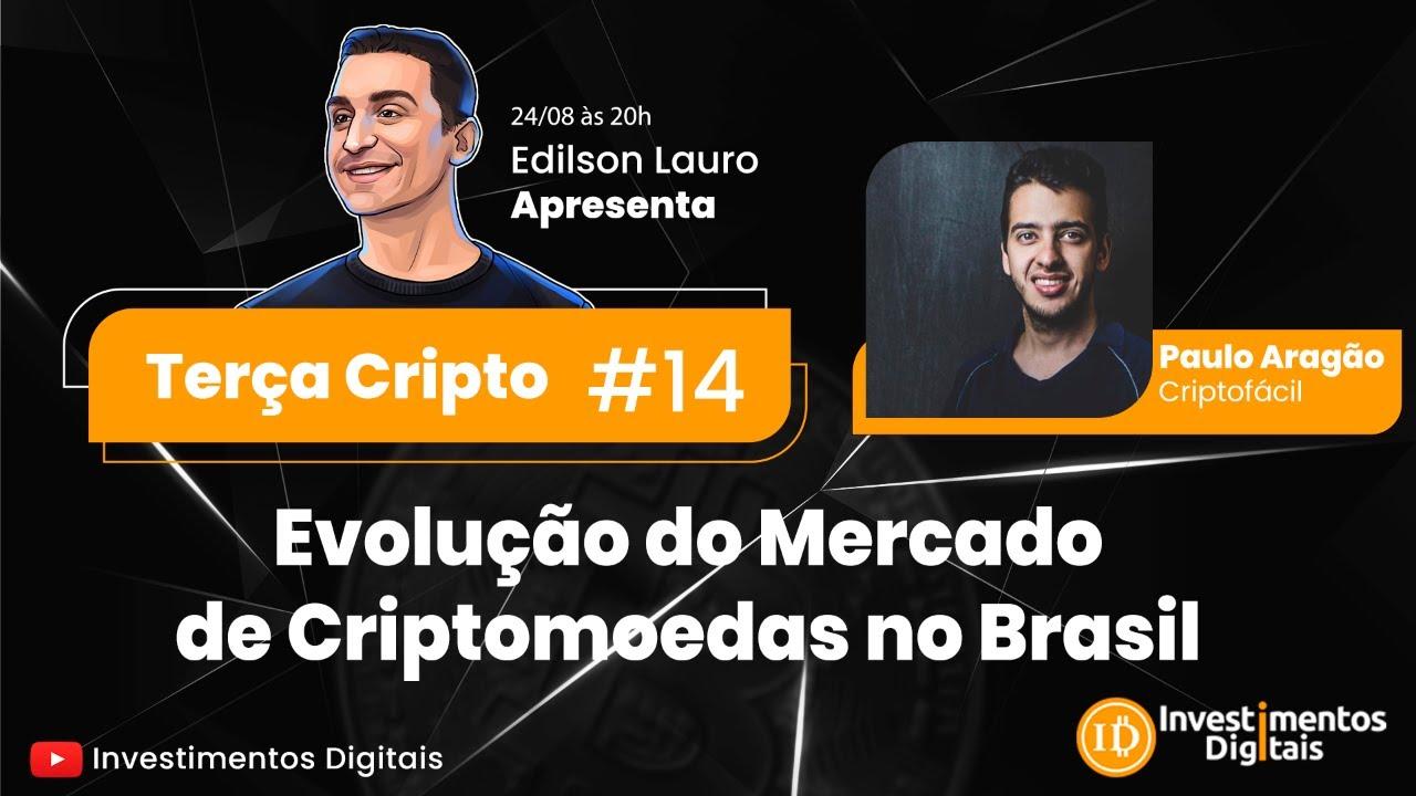 Live Terça Cripto #14: Evolução do Mercado de Criptomoedas no Brasil!