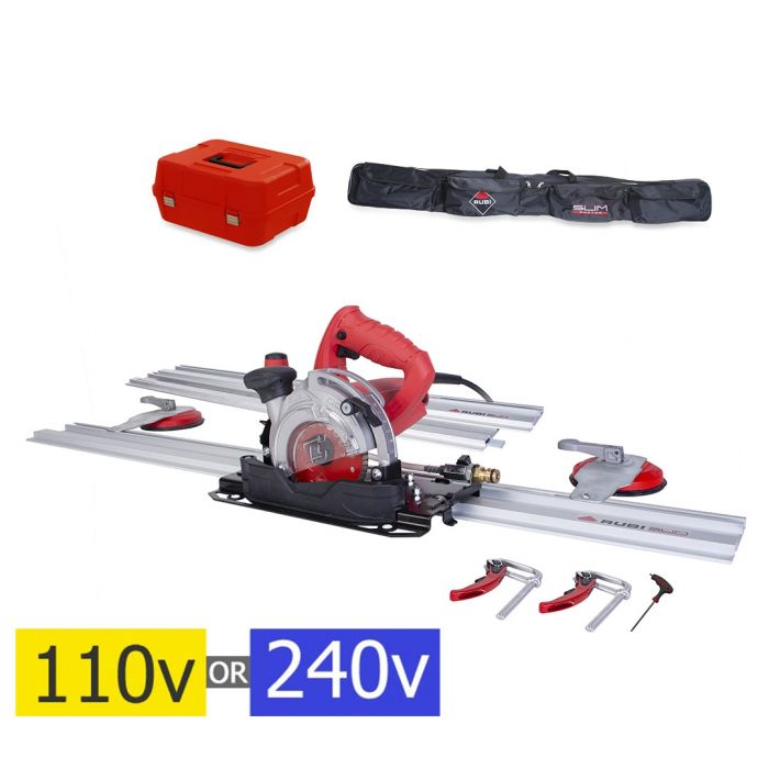 rubi tc 125 hand held wet saw electric tile cutter kit select voltage