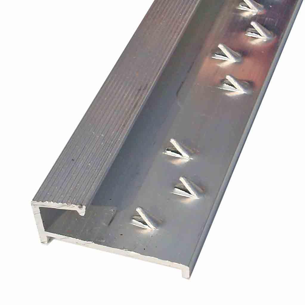 square carpet tile edge silver door trim x 2 7 mtr long
