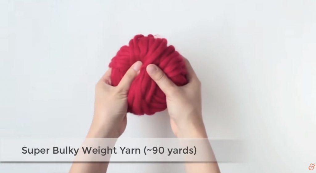 bulky yarn