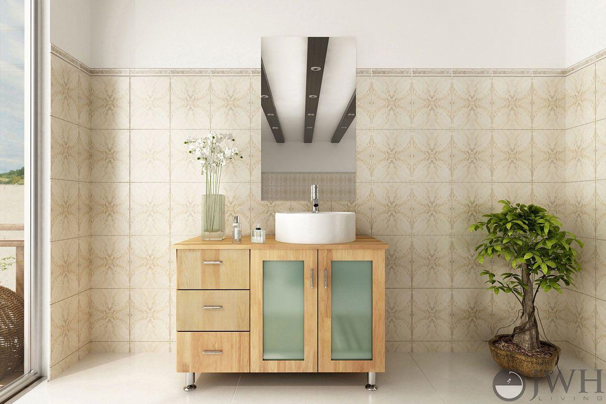 solid wood bathroom vanities that