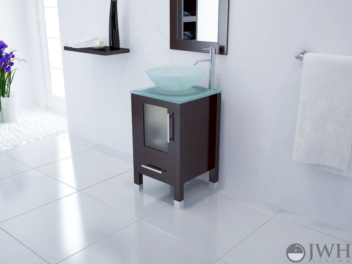narrow bathroom vanities with 8-18 inches of depth