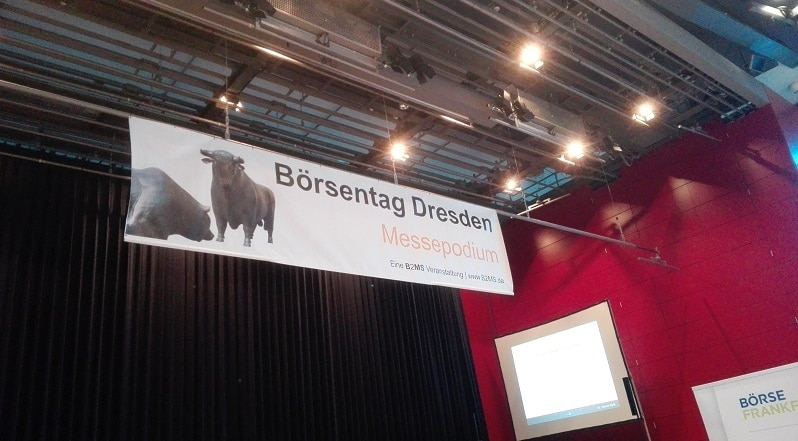 Nachlese Börsentag Dresden 2018