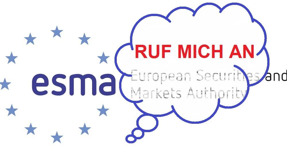 ESMA zielt auf CFD's – trifft sie auch Social Trading?