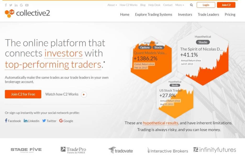 Collective2 – Social Trading Methusalem neu entdeckt