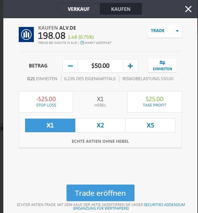 Bei der onvista bank haben Sie den Zugang zu den wichtigsten Handelsplätzen in Deutschland und im Ausland. Ihnen ist der Handel mit Aktien über Xetra, Direkthandel mit Lang&Schwarz, Commerzbank und weitere ausländische Börsen möglich.