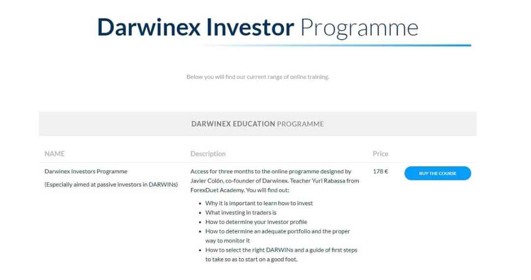 Darwinex Education Screenshot
