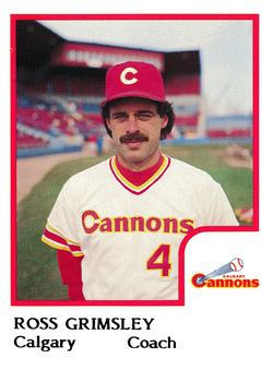 The Baseball Cards Of Ross Grimsley The Sports Daily