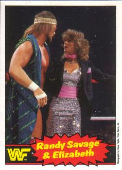 The Trading Cards Of Macho Man Randy Savage The Sports Daily