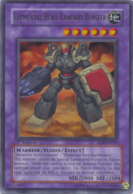 Rare NM Elemental Energy Yugioh Broww EEN-EN021 Huntsman of Dark World