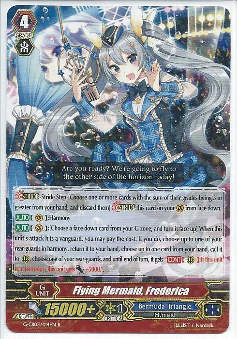 CARDFIGHT VANGUARD CARD: DUO CAPRICE CATS - G-CB03//034EN-B C MARJONA BLACK