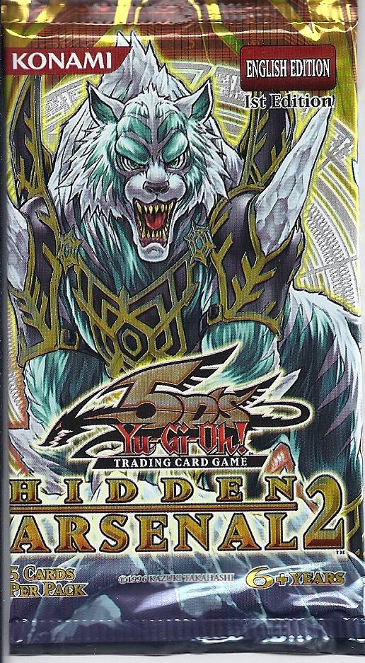cd57fdc04de3 YUGIOH 5D s HIDDEN ARSENAL 2 SEALED BOOSTER 5-CARD PACK