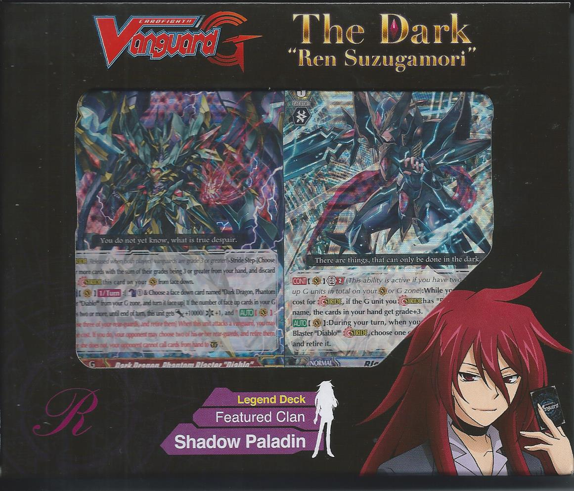 Cardfight Vanguard English G-Legend Deck: THE DARK 'REN