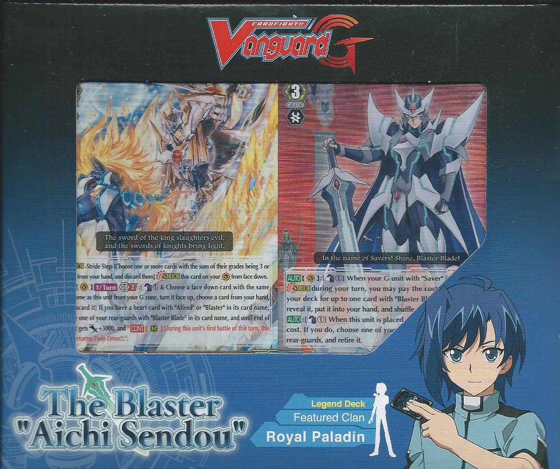 vanguard g deck  Cardfight Vanguard English G-Legend Deck: The Blaster 'Aichi Sendou ...