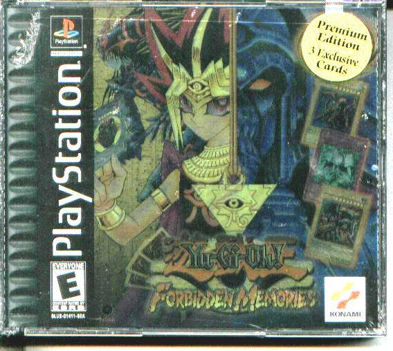 forbidden memories playstation game with red eyes black metal dragon