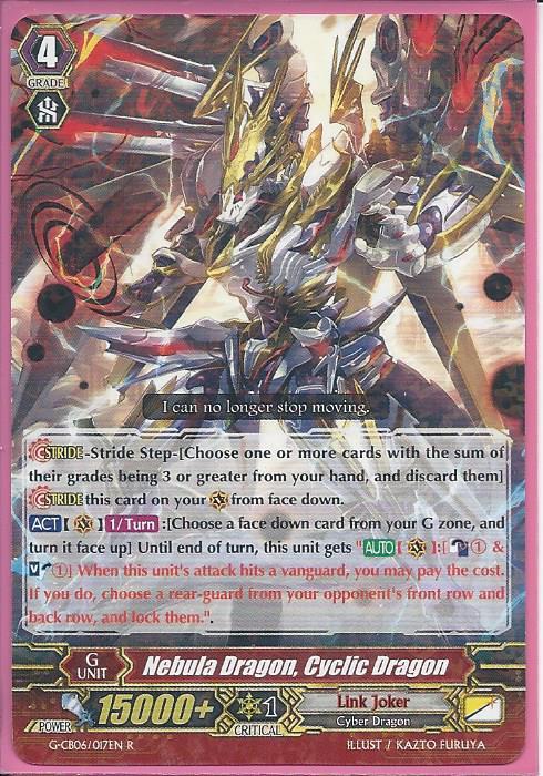 G-CB06-017 Nebula Dragon, Cyclic Dragon - Rare