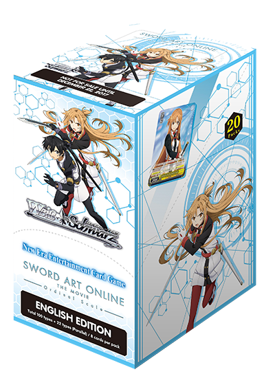 fa8feb18c71276 Sword Art Online The Movie -Ordinal Scale- (English) Weiss Schwarz Sealed  20-Pack Booster Box