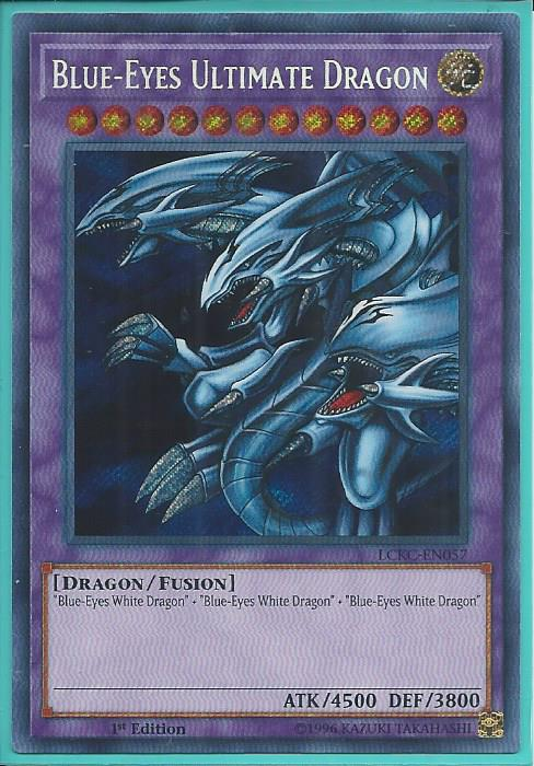 Blue Eyes Ultimate Dragon LCKC-EN057 Secret Rare NM Yugioh