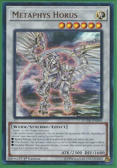 DUDE-EN026 Ultra Rare 1st Edition Duel Devastator 1X NM Saryuja Skull Dread