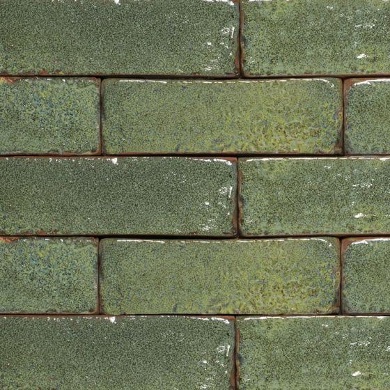 jade glazed brick tiles pack of 4 dsg jad 75 54